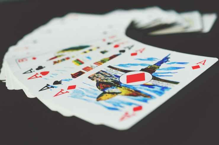 luck gambling chance ace